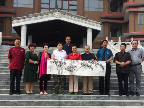世界关公文化大讲堂在关公故里山西运城正式揭牌