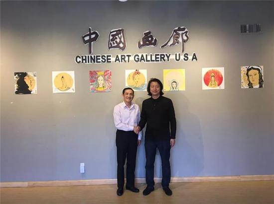 著名艺术家王麒诚《圣心》旧金山个展圆满成功!